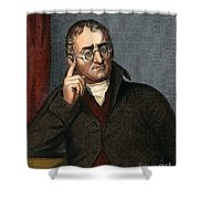 John Dalton - To License For Professional Use Visit Granger.com Shower Curtain