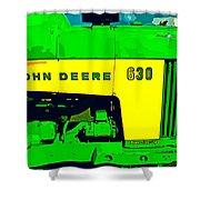 John Deere 630 Shower Curtain
