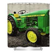 Classic Green  Shower Curtain
