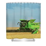 John Deere S690 Shower Curtain