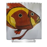 John Dory Shower Curtain