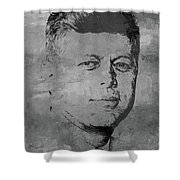 john f kennedy JFK03 Shower Curtain