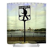 John Finley Walk II Shower Curtain