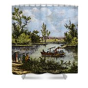 John Fitch Steamboat, 1796 Shower Curtain