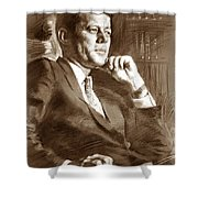 John Fitzgerald Kennedy Shower Curtain