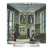 John Flamsteed, C. 1700 Shower Curtain