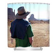 John Ford Country Shower Curtain