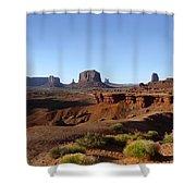 John Ford Point Shower Curtain
