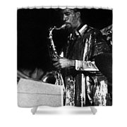 John Gilmore Shower Curtain