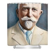 John H. Kellogg, 1852-1943 Shower Curtain