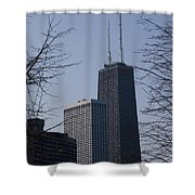 John Hancock Center Shower Curtain
