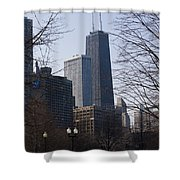 John Hancock Center II Shower Curtain