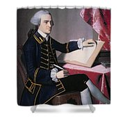 John Hancock Shower Curtain