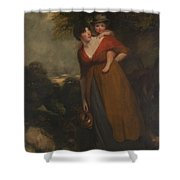 John Hoppner Shower Curtain