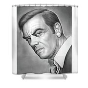 John Ireland Shower Curtain