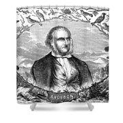 John James Audubon Shower Curtain
