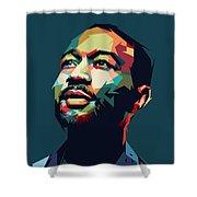 John Legend Shower Curtain