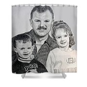 John Megan And Joey Shower Curtain