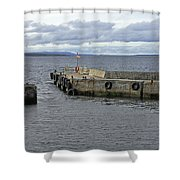John O'groats Harbour Shower Curtain