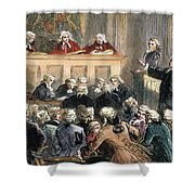 John Peter Zenger Trial Shower Curtain