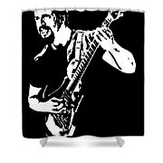 John Petrucci No.01 Shower Curtain by Caio Caldas