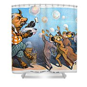 John Pierpont Morgan Shower Curtain