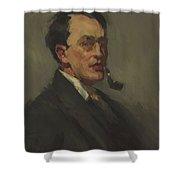 John Sloan 1909 Shower Curtain