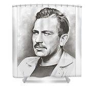 John Steinbeck Shower Curtain