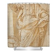 John The Baptist Shower Curtain