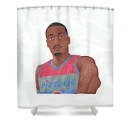 John Wall Shower Curtain