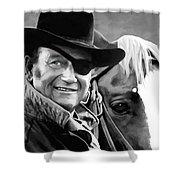 John Wayne @ True Grit #1 Shower Curtain