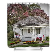 John Wayne Birthplace Shower Curtain
