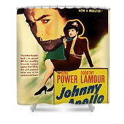 Johnny Apollo 1940 Shower Curtain