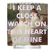 Johnny Cash Art Print Shower Curtain