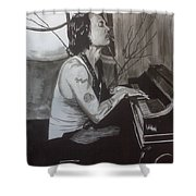 Johnny Depp 1 Shower Curtain