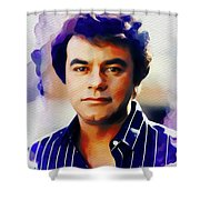 Johnny Mathis, Music Legend Shower Curtain