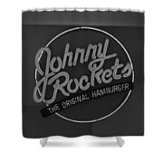 Johnny Rockets Shower Curtain