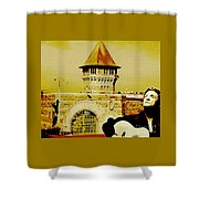 Johnny Sings The Blues Shower Curtain