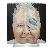John's Eye Surgery Shower Curtain