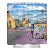 Johnshaven Scotland Shower Curtain