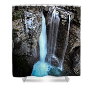 Johnston Creek Falls Shower Curtain