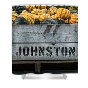 Johnston Fruit Farms Shower Curtain
