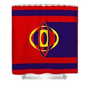 Joker Design Shower Curtain