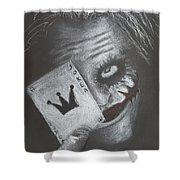 Joker Shower Curtain