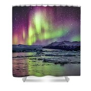 Jokulsarion Glacier Lagoon Shower Curtain