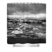 Jokulsarlon Glacier Lagoon Iceland 2041 Shower Curtain