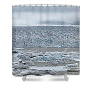 Jokulsarlon, Iceland Shower Curtain