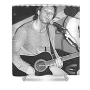 Jon Bon Jovi Acoustic Shower Curtain