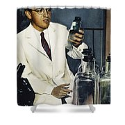 Jonas Salk (1914-1995) Shower Curtain