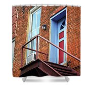 Jonesborough Tenessee - Upstairs Neighbors Shower Curtain